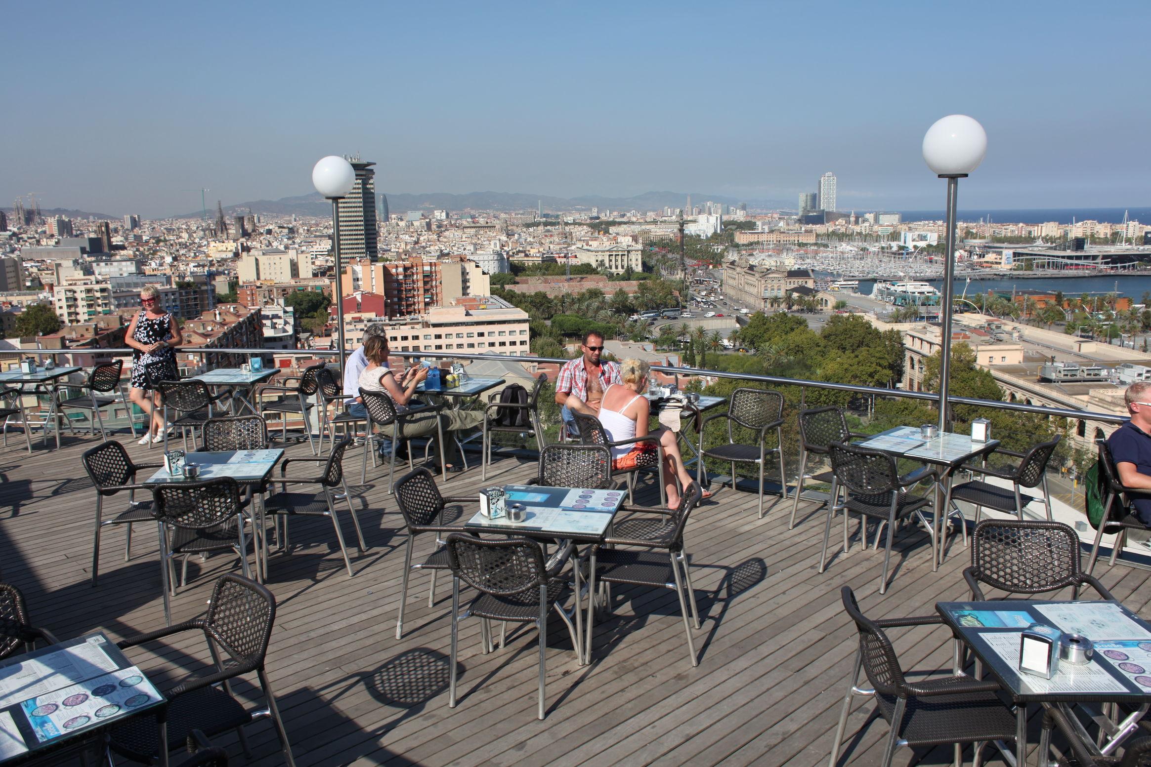On The Terrace Of Miramar Restaurant